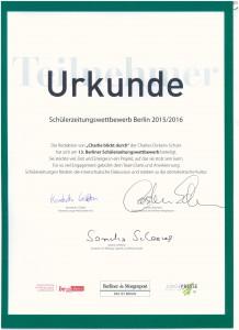 Urkunde Schulzeitung 001