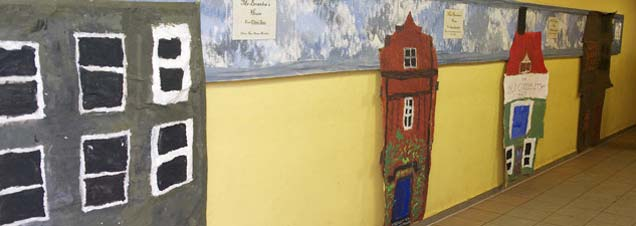 Wall Decoration for Primary School
